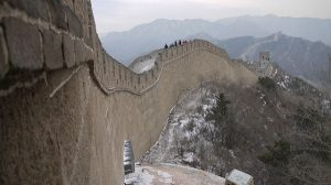 Source: Antonio Silveira / Flickr CC: Great wall of China (Licence terms: https://creativecommons.org/licenses/by/2.0/)